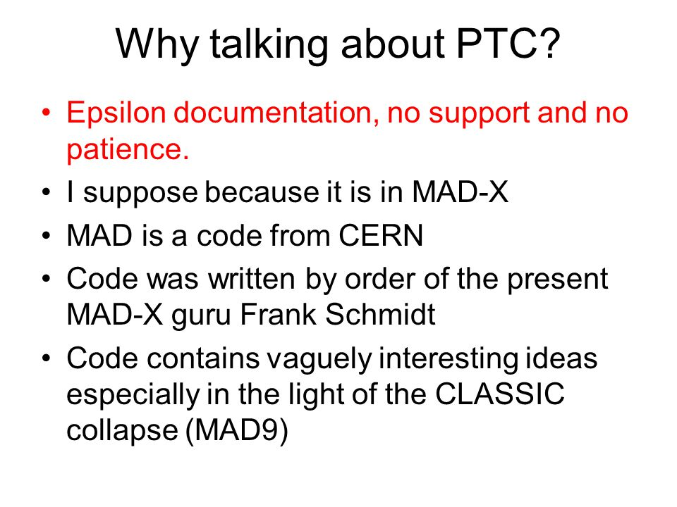 What is PTC.