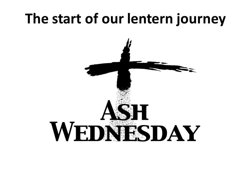 The start of our lentern journey