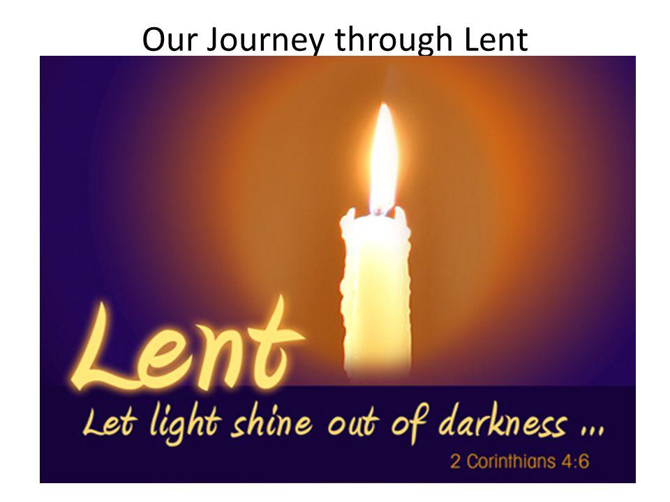 Our Journey through Lent