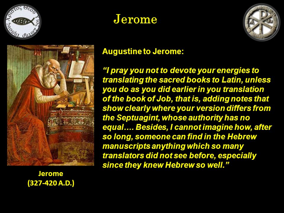 Jerome Reaction to the Fall of Rome in 410: Who could have believed that Rome, built by the conquest of the world, would fall.