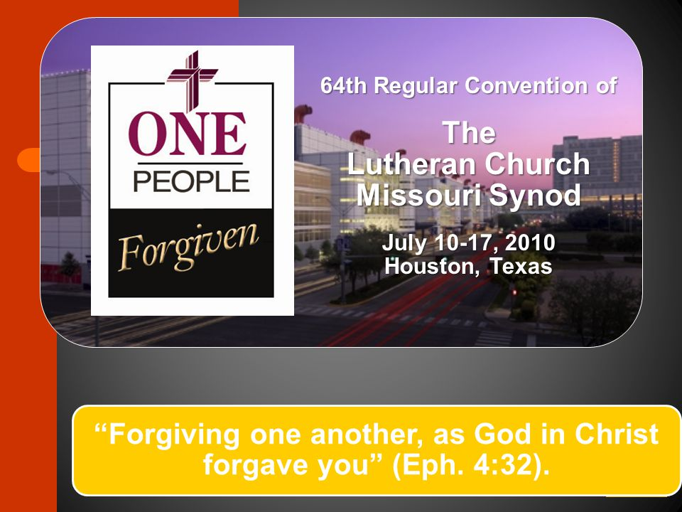 Convention Resolution Process: An Overture Summary Submission of Overtures by Congregations, Conventions, Conferences, Boards, etc.