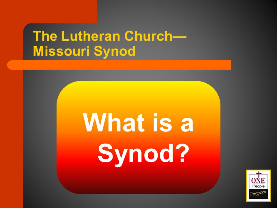 8-17 Elect Synod President – Three candidates receiving highest nomination numbers – Four weeks before convention, delegates from previous district conventions cast votes – If no majority received, a second ballot is cast – Results announced two weeks prior to the Synod Convention Synod Structure and Governance Floor Committee # 8 Committee Considerations