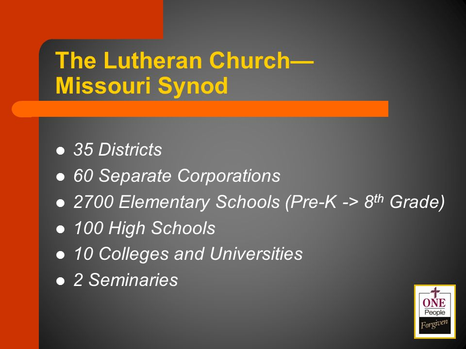 1-07 Encourage Inter-District Dialogue in the Establishment of New Church Starts, Satellite Worship Sites and Specialized Ministries Across Geographical District Lines 1-08 Encourage the Wittenberg Project as a Gospel Outreach Opportunity 1-09 Respectfully Decline Overtures – Overtures 1-06, 1-07, 1-08 & 1-11 Missions Floor Committee # 1 Committee Considerations