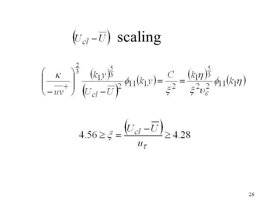 26 scaling