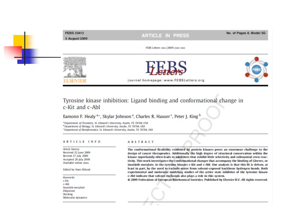 An investigation of the importance of the Kinase Hinge region on the structure and function of selected Tyrosine Kinases