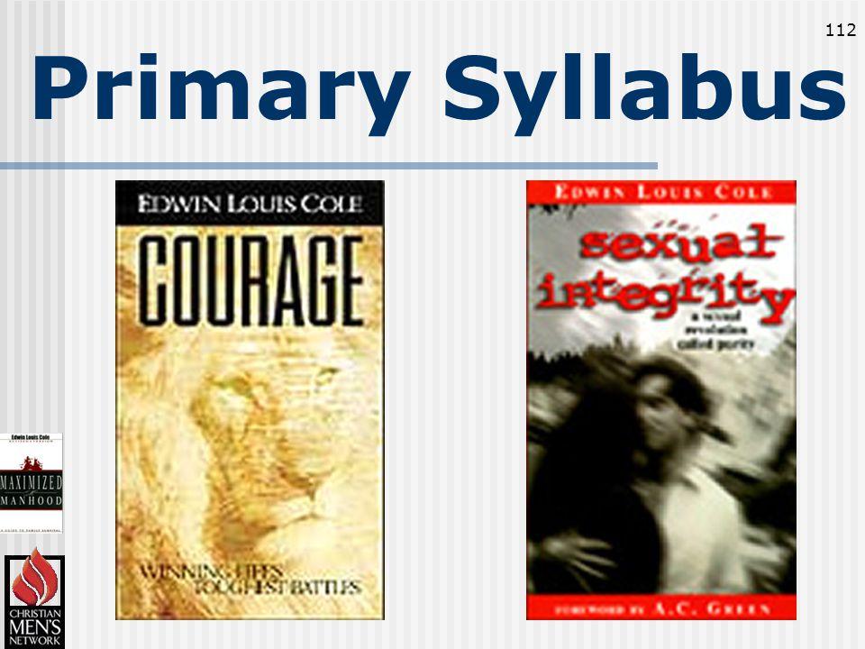 112 Primary Syllabus