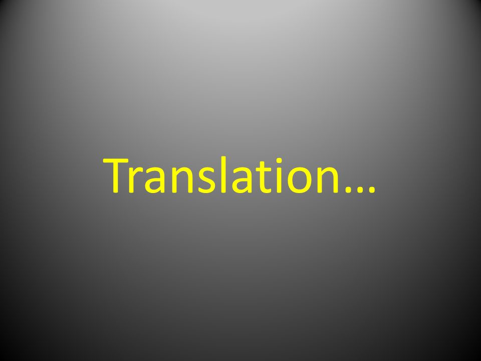 Translation…