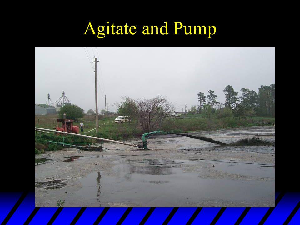 Agitate and Pump