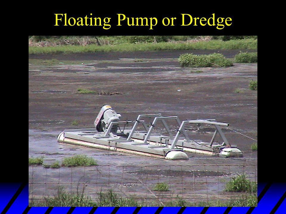 Floating Pump or Dredge