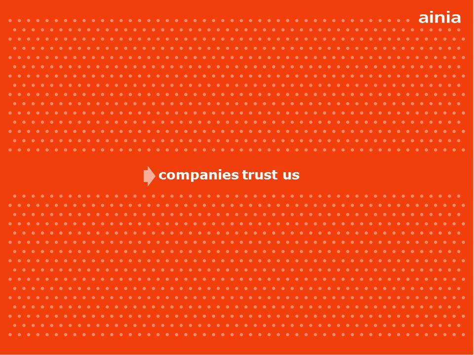 companies trust us