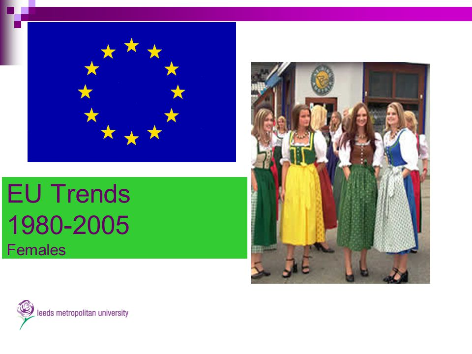 EU Trends 1980-2005 Females