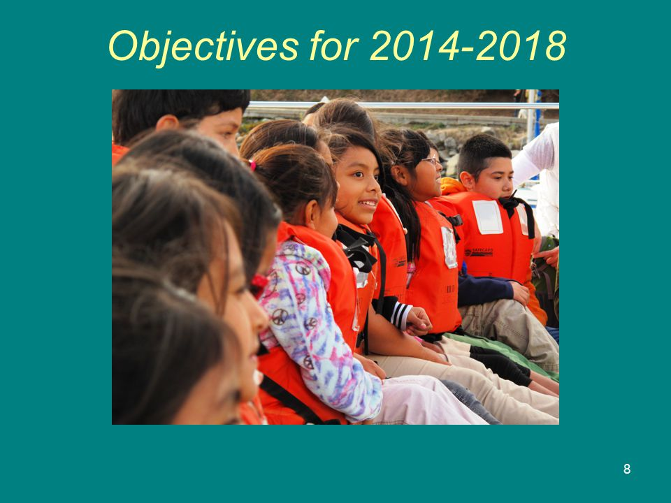 8 Objectives for 2014-2018