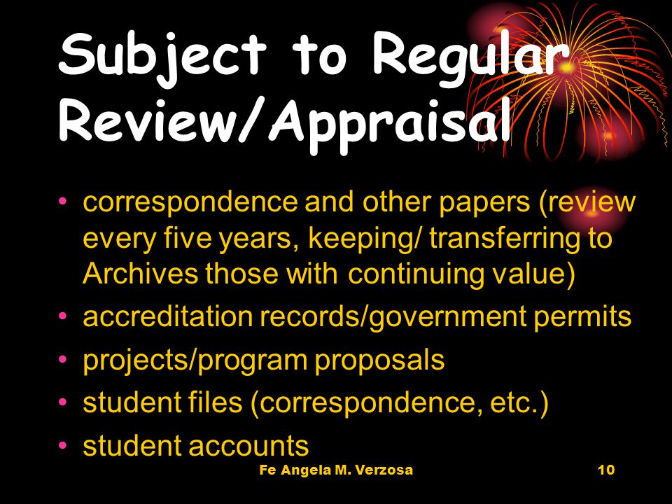 9 Keep for two years, then destroy acknowledgements application records attendance / job performance reports duplicate/multiple copies of minutes, reports, plans, printed material (catalogs, brochures), etc.