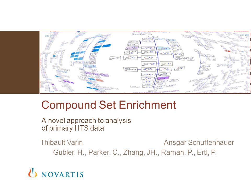 Questions? | Compound Set Enrichment | Thibault Varin | 10/07/1422