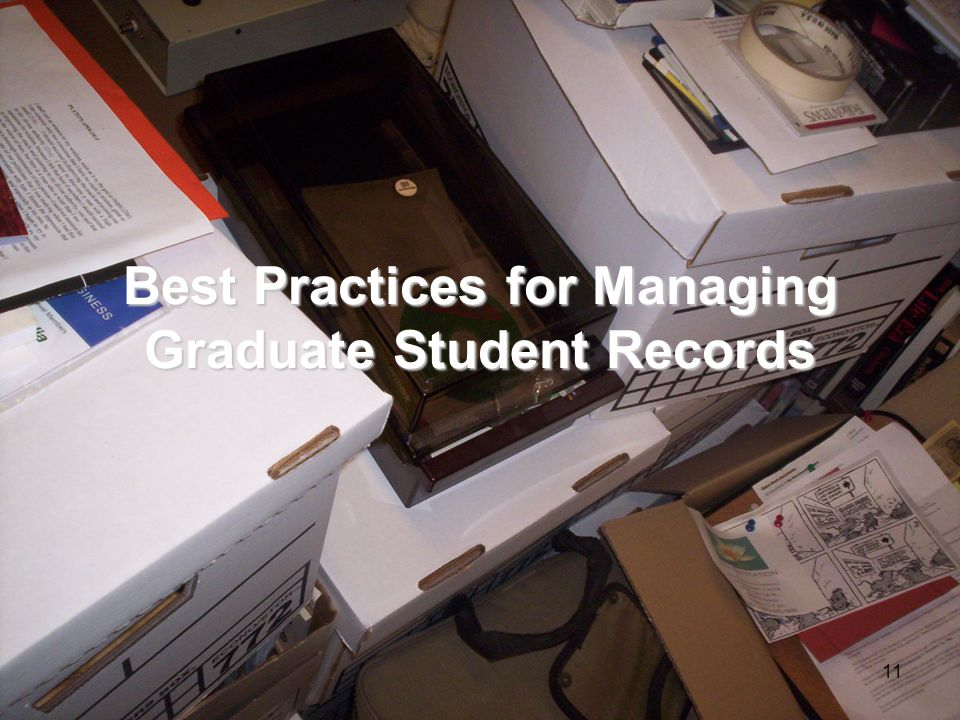 10 Why is records management important.