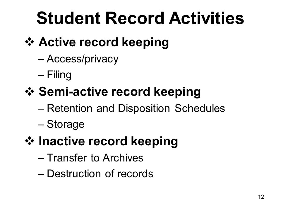 11 Best Practices for Managing Graduate Student Records