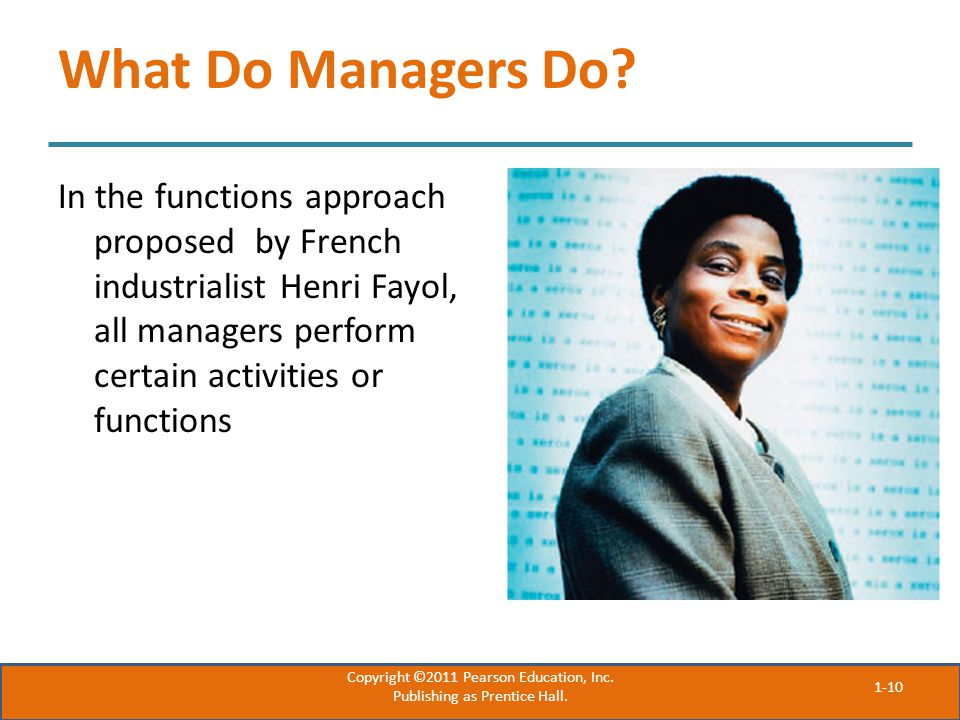 What Do Managers Do.