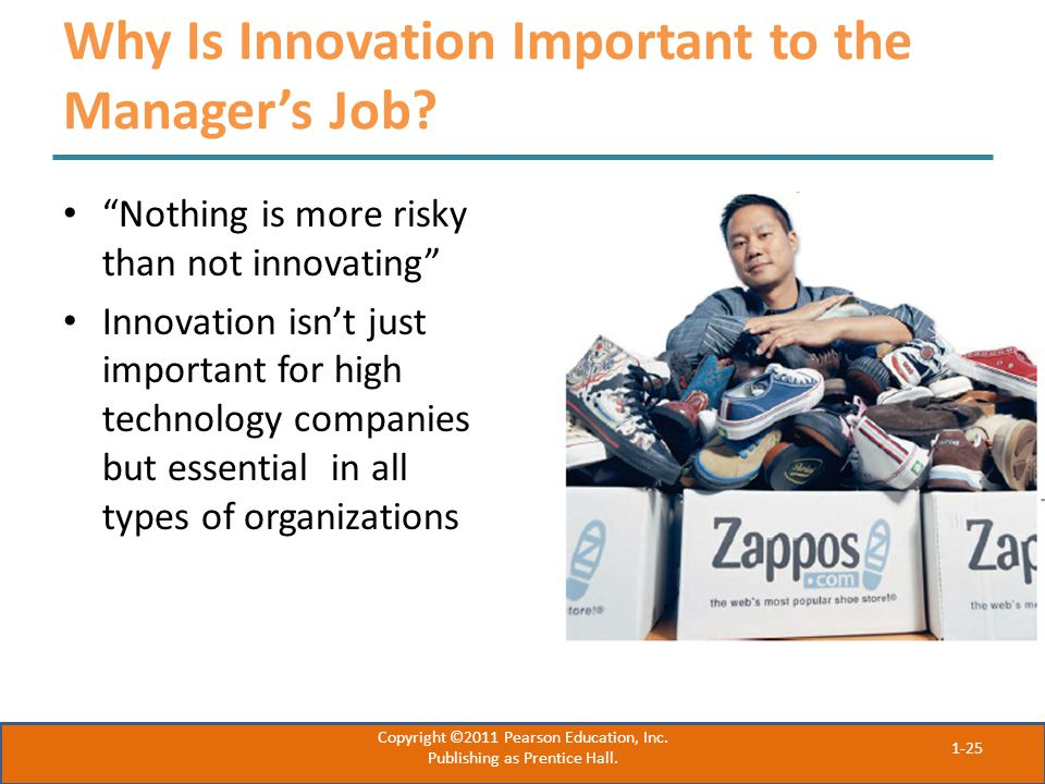 Why Is Innovation Important to the Manager's Job.