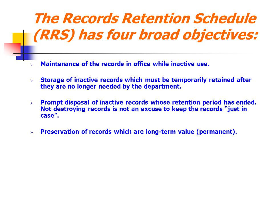 Electronic Records  The rules apply to ALL electronic state records, regardless of the retention period.