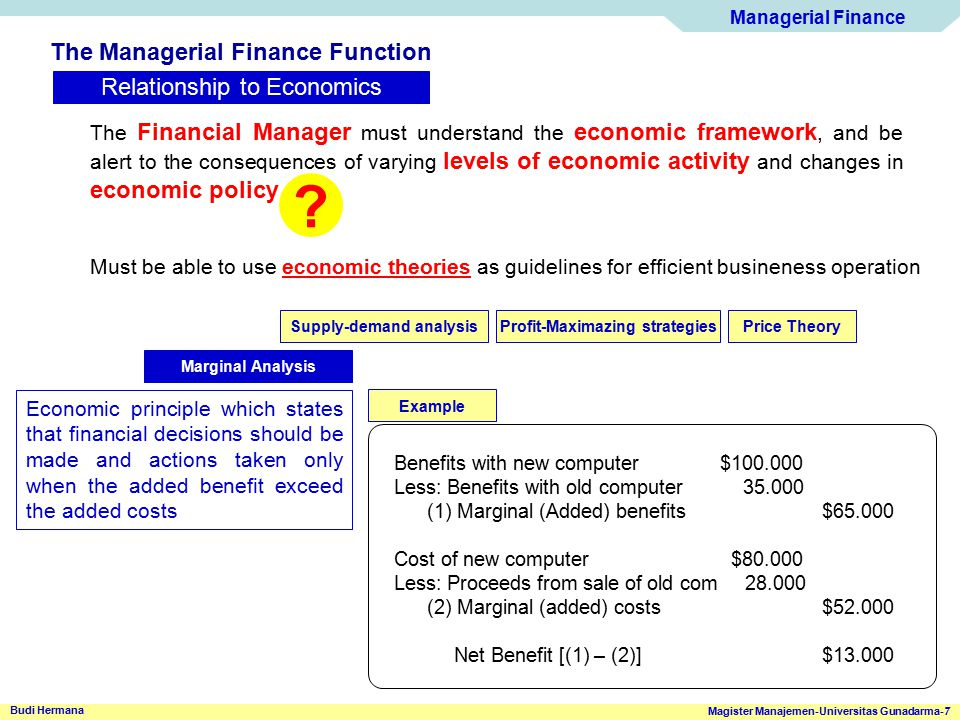 Managerial Finance Magister Manajemen-Universitas Gunadarma-38 Budi Hermana Basic Financial Statements Statement of Retained Earning ABC Corporation Statement of Retained Earnings ($000) for the end year Ended December, 2001 Retained earnings balance (january 1, 2001)$500 Plus: Net Profit after taxes (for 2001) 180 Less: Cash dividend (paid during 2001) Preferred stock($10) Common stock( 70) 80 Retanined earnings balance (Dec 31, 2001)$600 Reconciles the net income earned during a given year, and any cash dividends paid, with the change in retained earnings between the start and end of that year