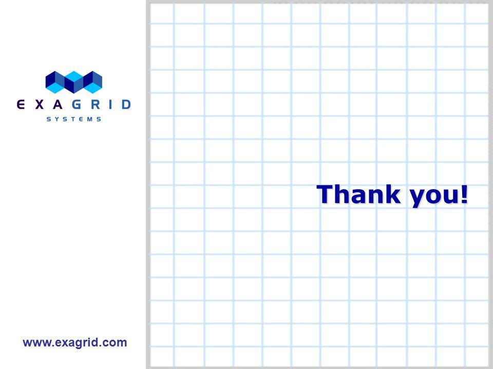 14 Thank you! www.exagrid.com