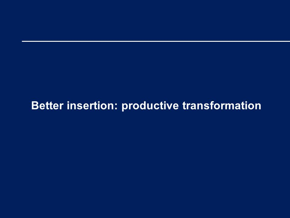 Better insertion: productive transformation