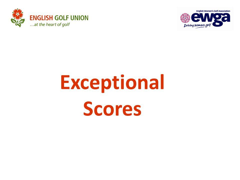 Exceptional Scores