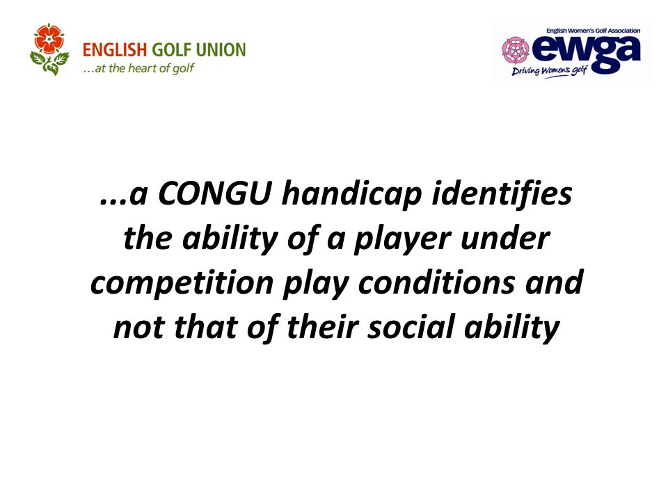 CENTRAL DATABASE OF HANDICAPS (CDH) CDH Statistics Active Clubs1904 [1881] Men666914 Ladies107117 As at 30 th September 2011