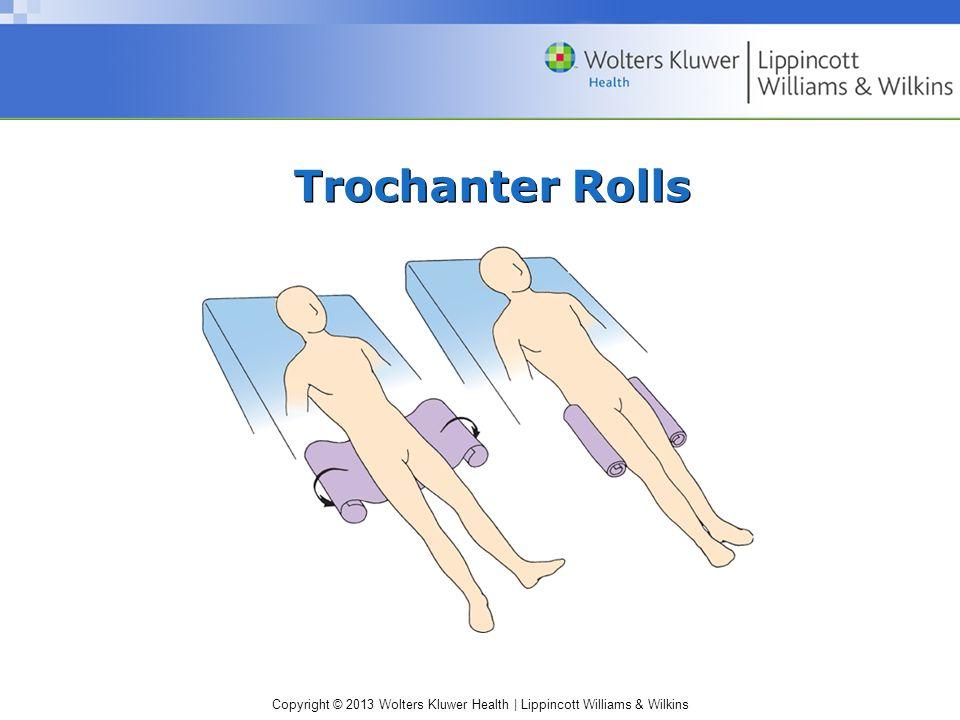Copyright © 2013 Wolters Kluwer Health | Lippincott Williams & Wilkins Trochanter Rolls