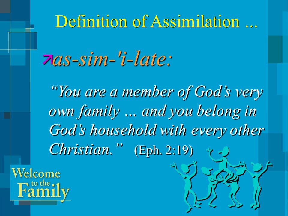 Active Responsible Church Member New MemberProspect A Model of Assimilation...
