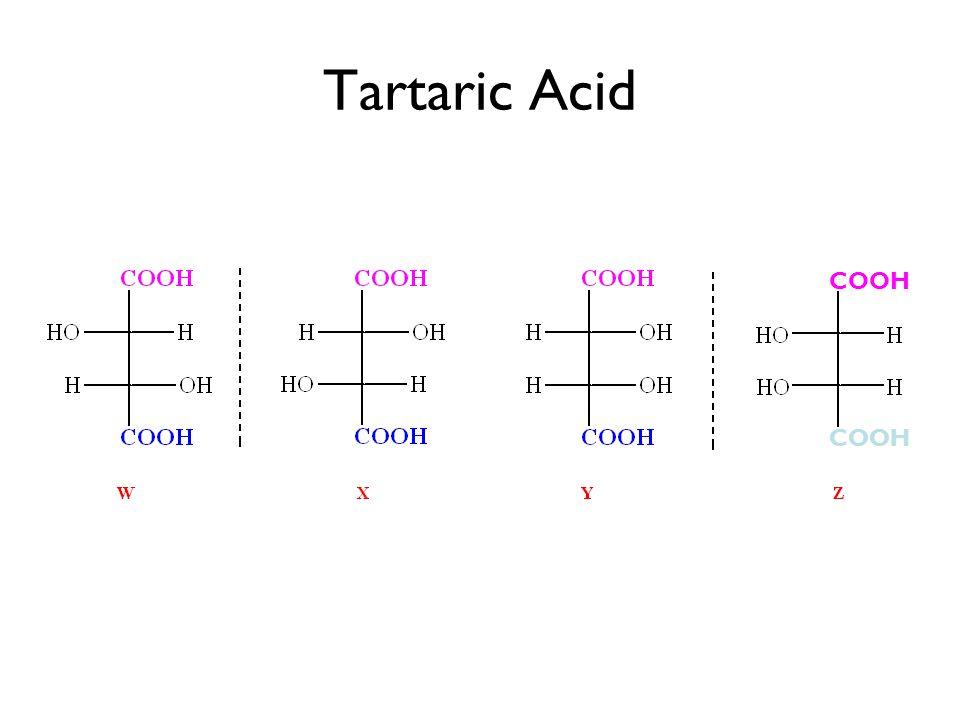 meso COOH Tartaric Acid