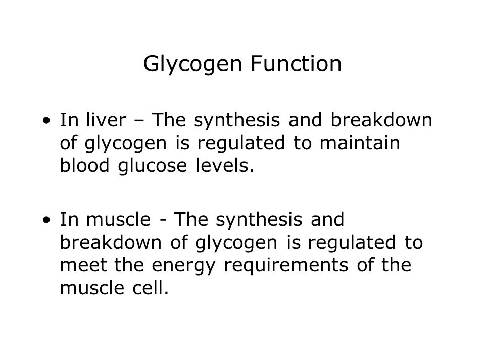 Regulation of Glycogen Synthase When the enzyme is phosphorylated, it is inactivated.