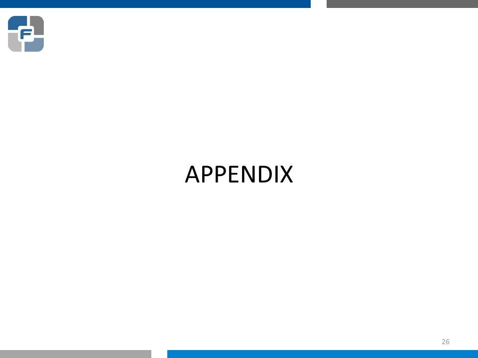 APPENDIX 26