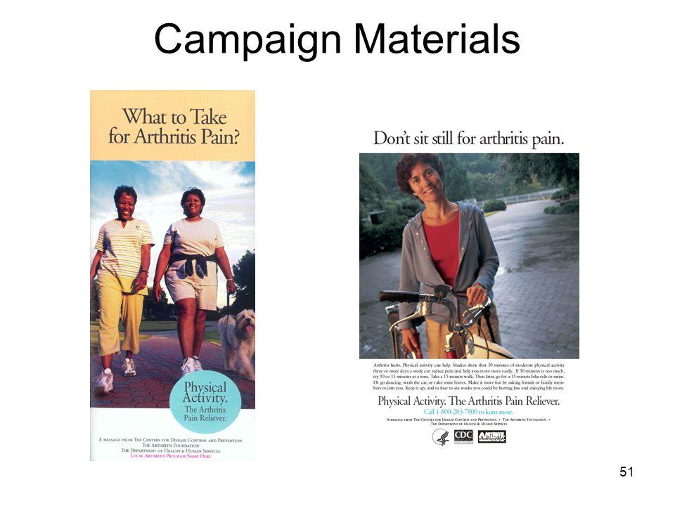 51 Campaign Materials