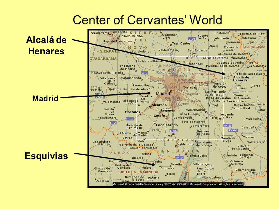 Center of Cervantes' World Esquivias Madrid Alcalá de Henares