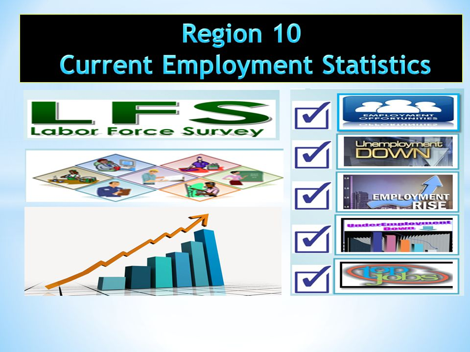  provides the most comprehensive data sets on labor force, employment, unemployment and underemployment; and  provides the most current or updated data sets that describe the country's employment situation.