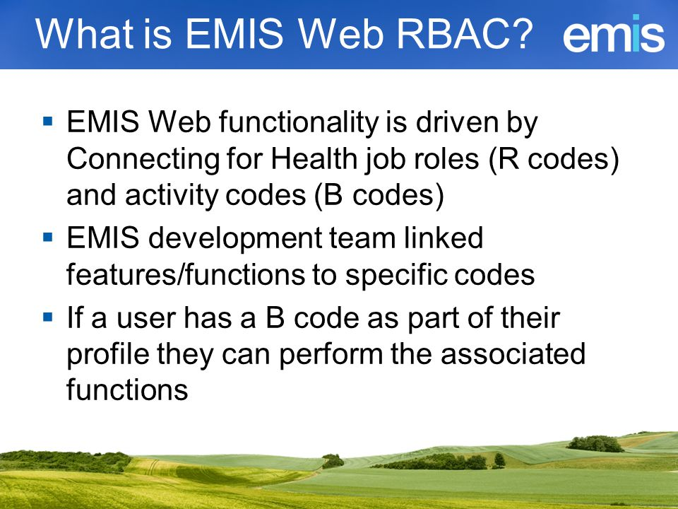 Why is Web RBAC driven.