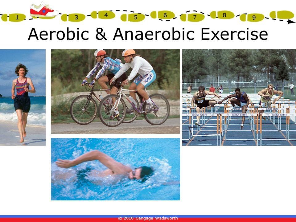 © 2010 Cengage-Wadsworth 1 2 3 4 5 6 7 8 9 Aerobic & Anaerobic Exercise