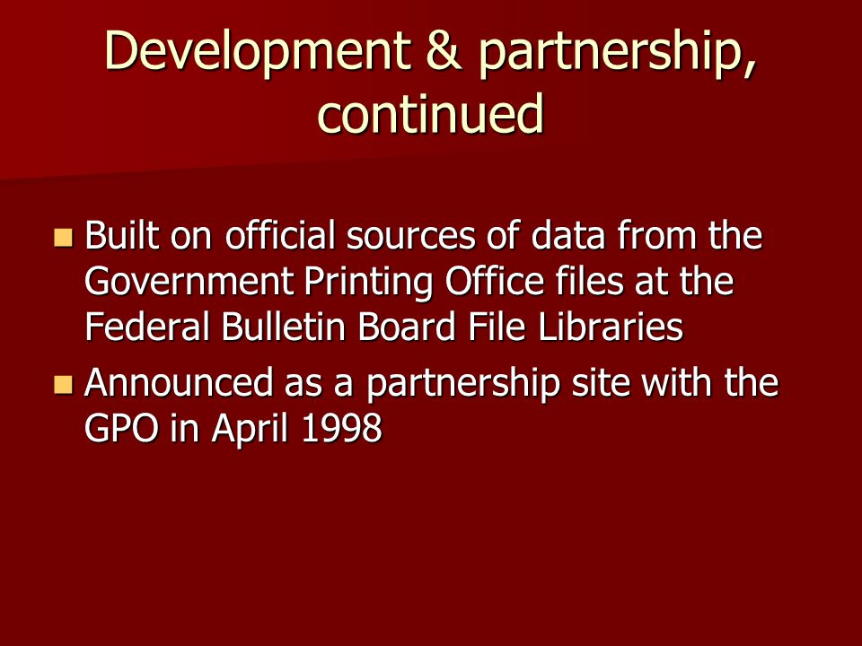 MARC Records Data in DDM2 MARC Records Total Oct.2001 = 50,056 MARC Records Total Oct.