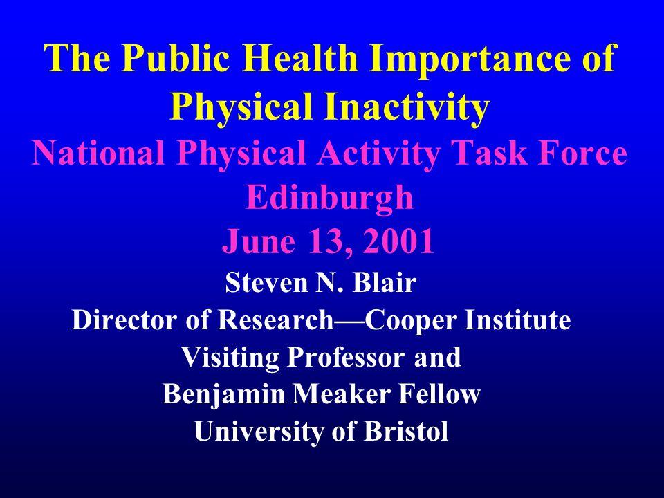 Cardiorespiratory Fitness and Longevity