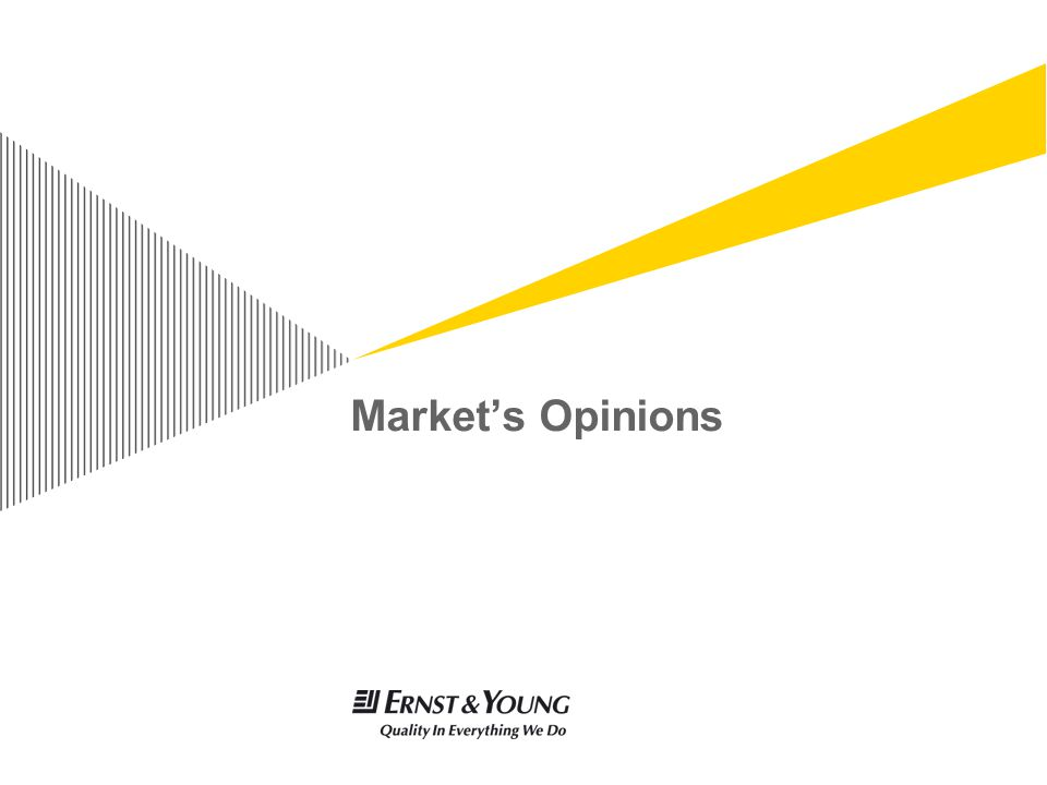 Market's Opinions
