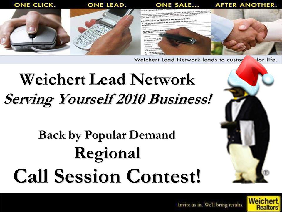 Weichert Lead Network Serving Yourself 2010 Business.