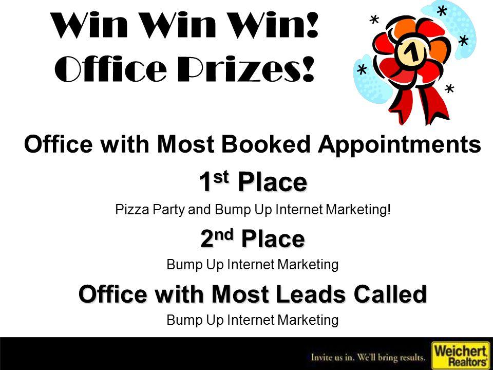 Win Win Win.Office Prizes.