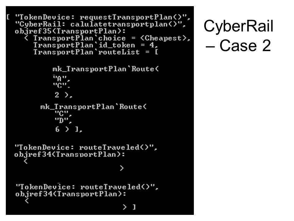 CyberRail – Case 2