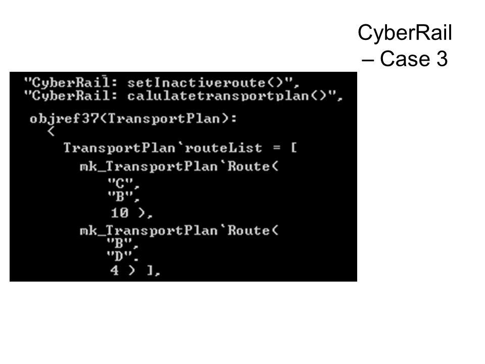 CyberRail – Case 3