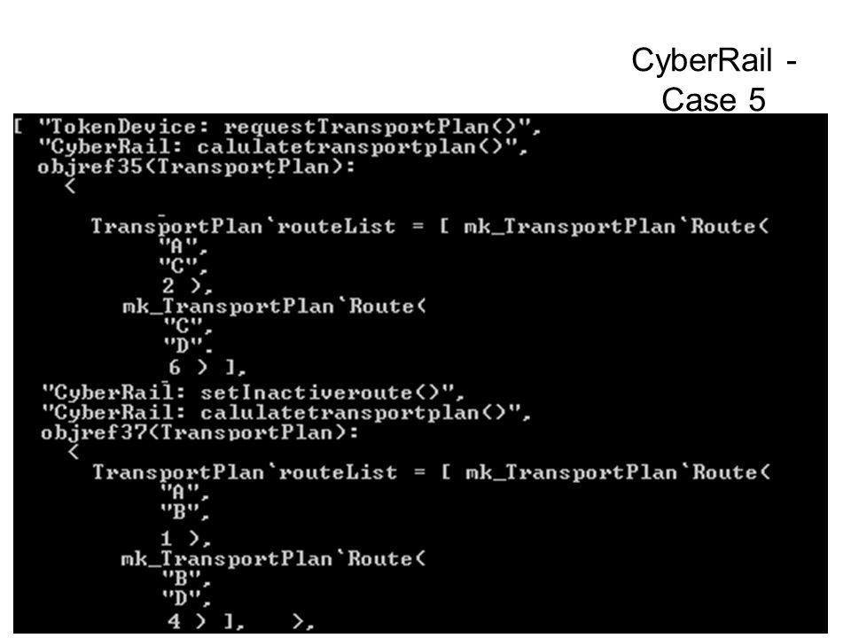 CyberRail - Case 5