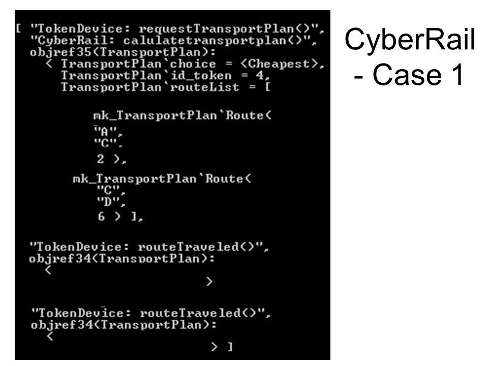 CyberRail - Case 1