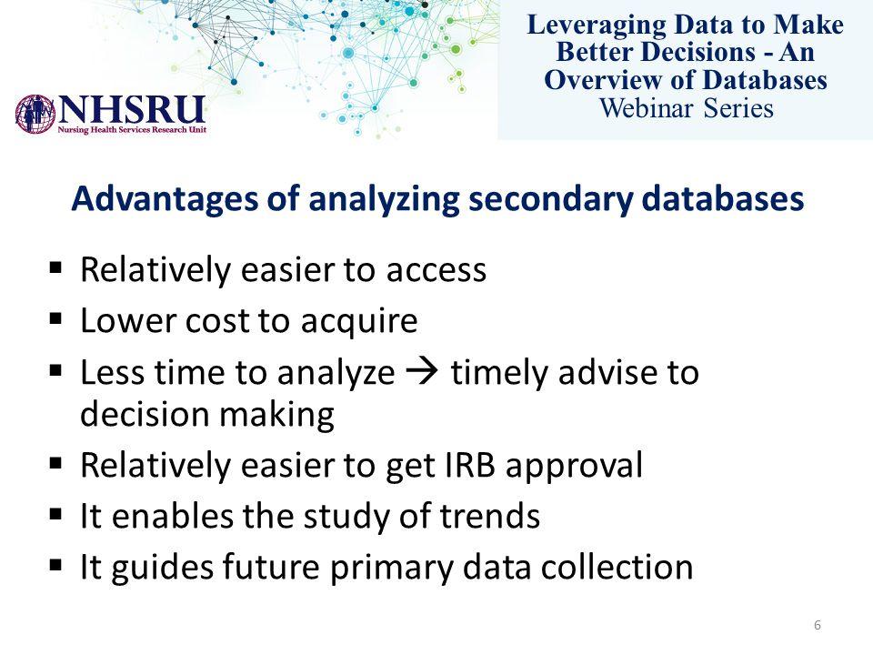 Yet…despite multiple advantage using administrative data sources remains a major undertaking! 7