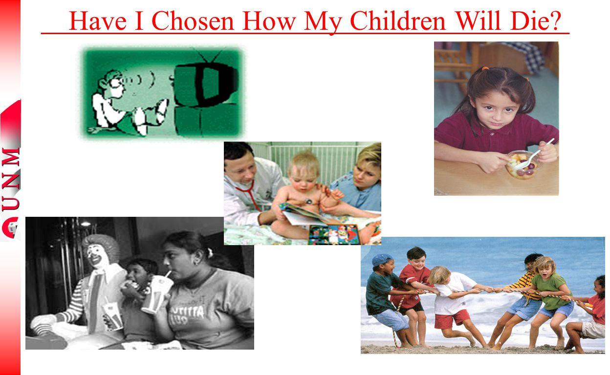 Have I Chosen How My Children Will Die?