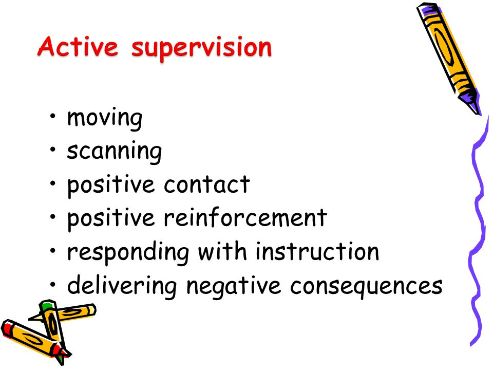 moving scanning positive contact positive reinforcement responding with instruction delivering negative consequences